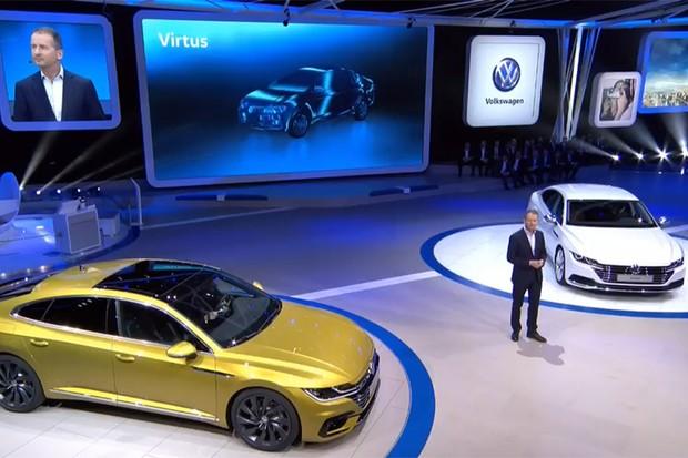 Novo VW Virtus: lançamento no mercado brasileiro