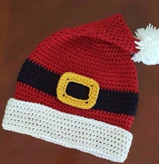 Christmas Crochet Hats For You With Free Tutorial