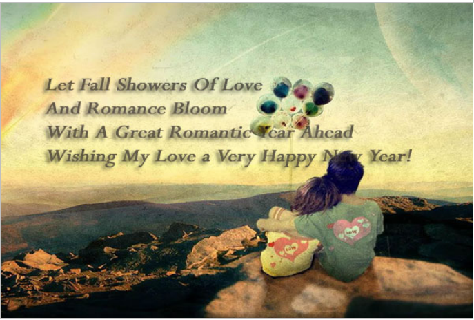 Happy New Year 2016 Romantic Wishes Wallpapers