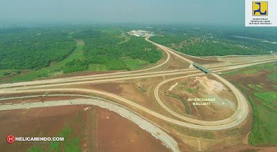 Foto Udara Interchange Kalijati Tol Cipali