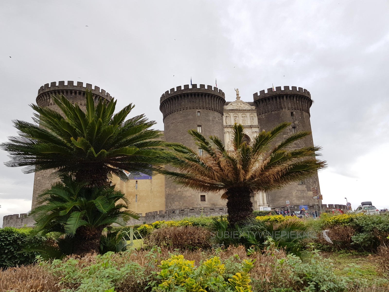 Neapol Włochy Castel Nuovo (Nowy Zamek)