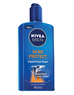 Nivea Men Liquid facial foam acne protect