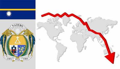 Bendera dan wilayah pulau Nauru