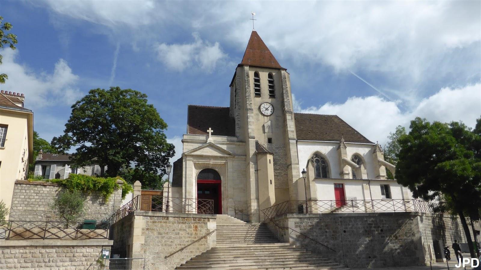 Paris bise art glise saint germain de charonne la for La quincaillerie saint germain