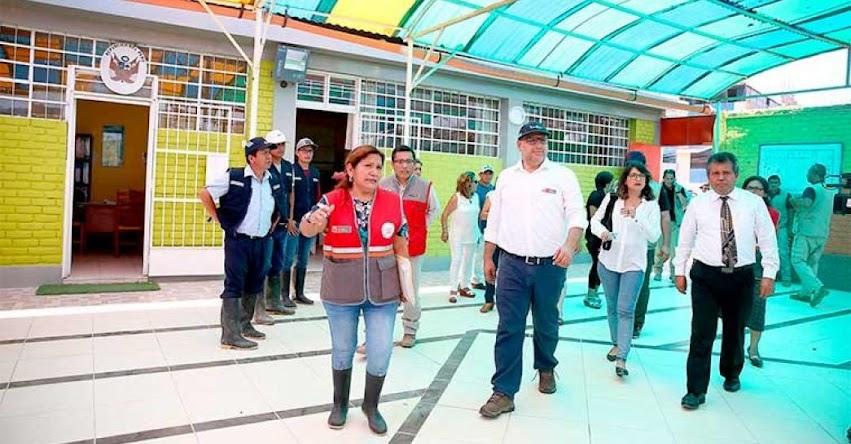 Ministro de Educación, Daniel Alfaro monitorea colegios para garantizar inicio de clases 2019