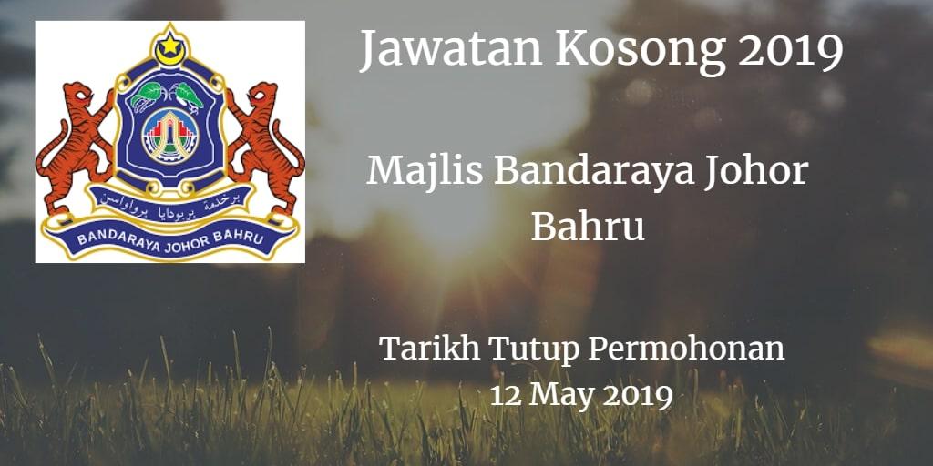 Jawatan Kosong MBJB 12 May 2019