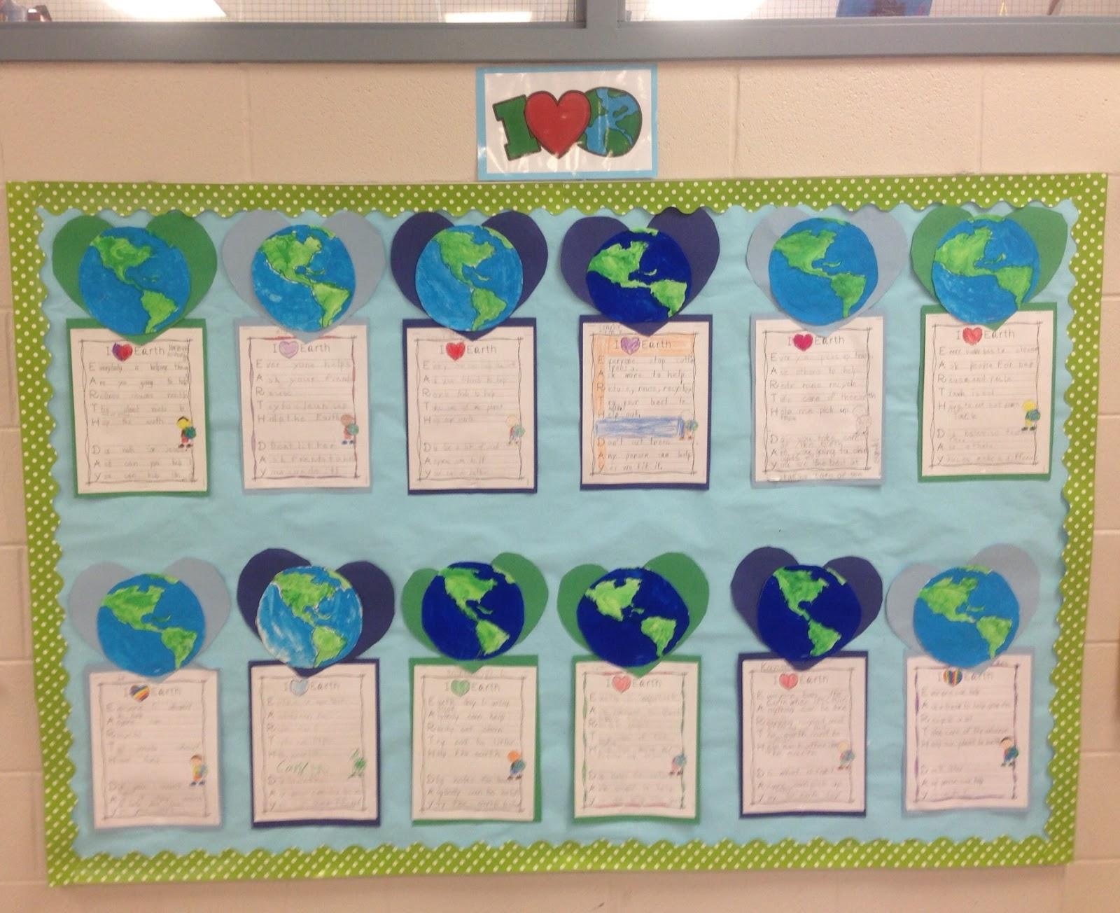 A Sunny Day In First Grade We Love Earth Day