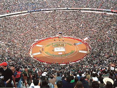 corrida de toros plaza mexico torero