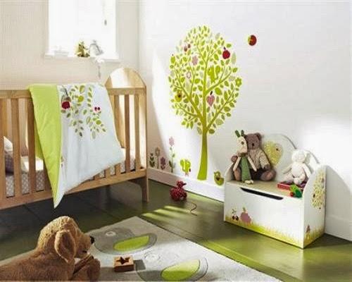 Des nombreuses photos décoration chambre bébé jardin