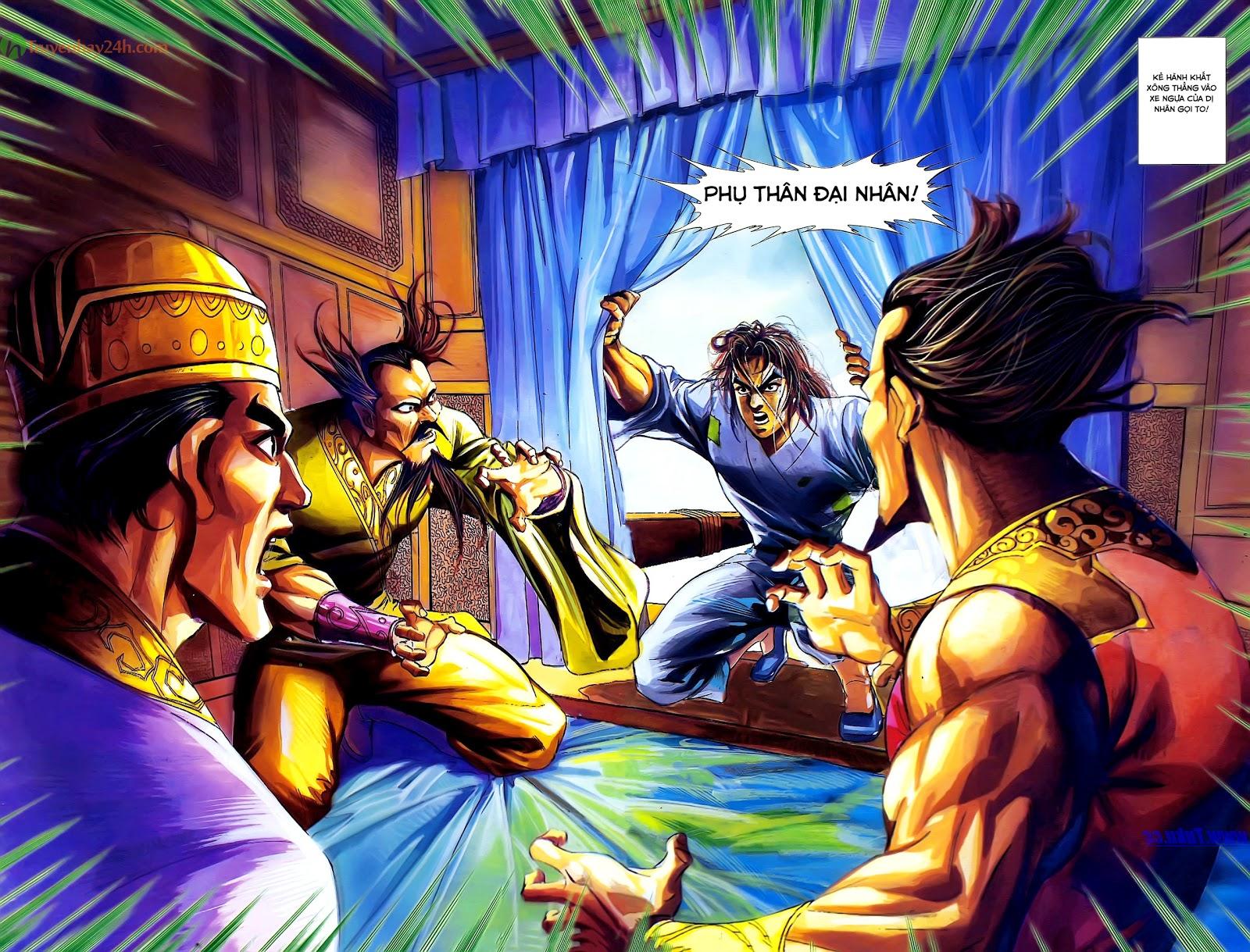 Tần Vương Doanh Chính chapter 28 trang 30