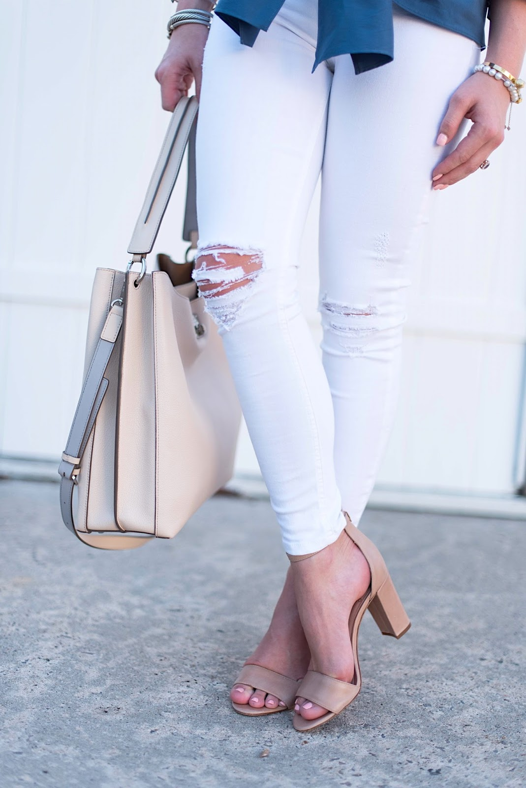 Nude Sandals - Click through to see more on Something Delightful!
