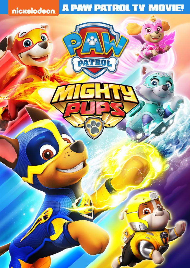 Paw Patrol Mighty Pups New Mini Movie Available Exclusively At