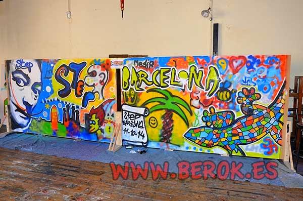 Graffiti Team Building Events Barcelona