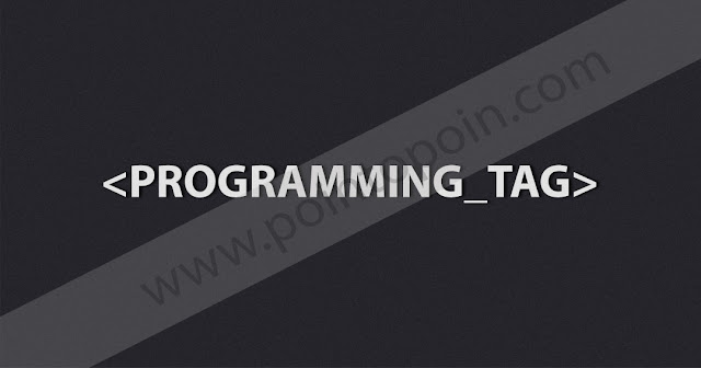 Tag Pada HTML Part 12 : Programming Tag