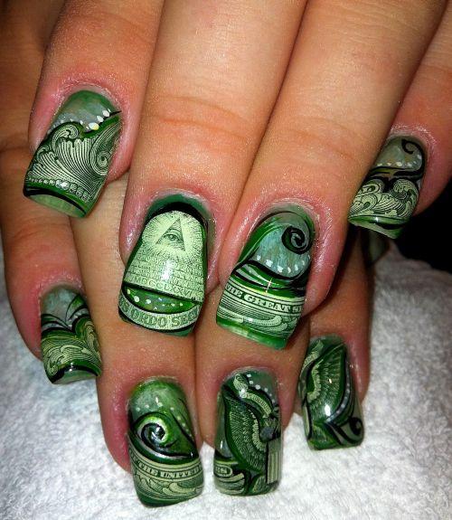 Nail Art: Handpainted Nail