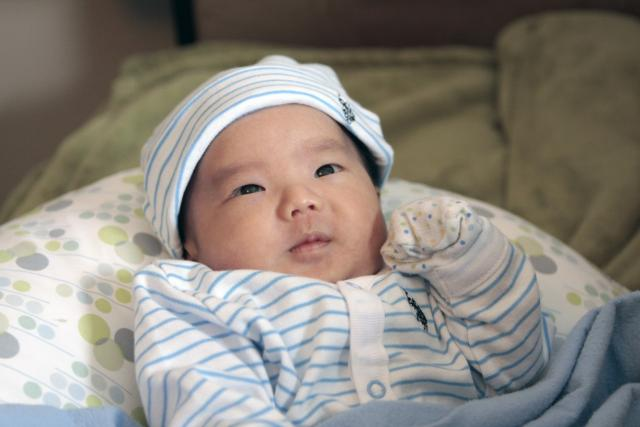 Cute Newborn Asian Baby   photo a day   line a day  Asian Baby Quotes