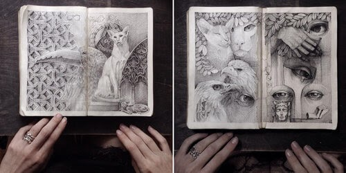 00-Lena-Limkina-Intricate-Moleskine-Drawings-with-Cats-www-designstack-co
