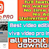 Viva Video Mod ,Download Viva Video No Watermark|| Unlimited Time Spend| Unlocked all Features