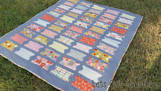 2015 Finished Quilt - Ticket