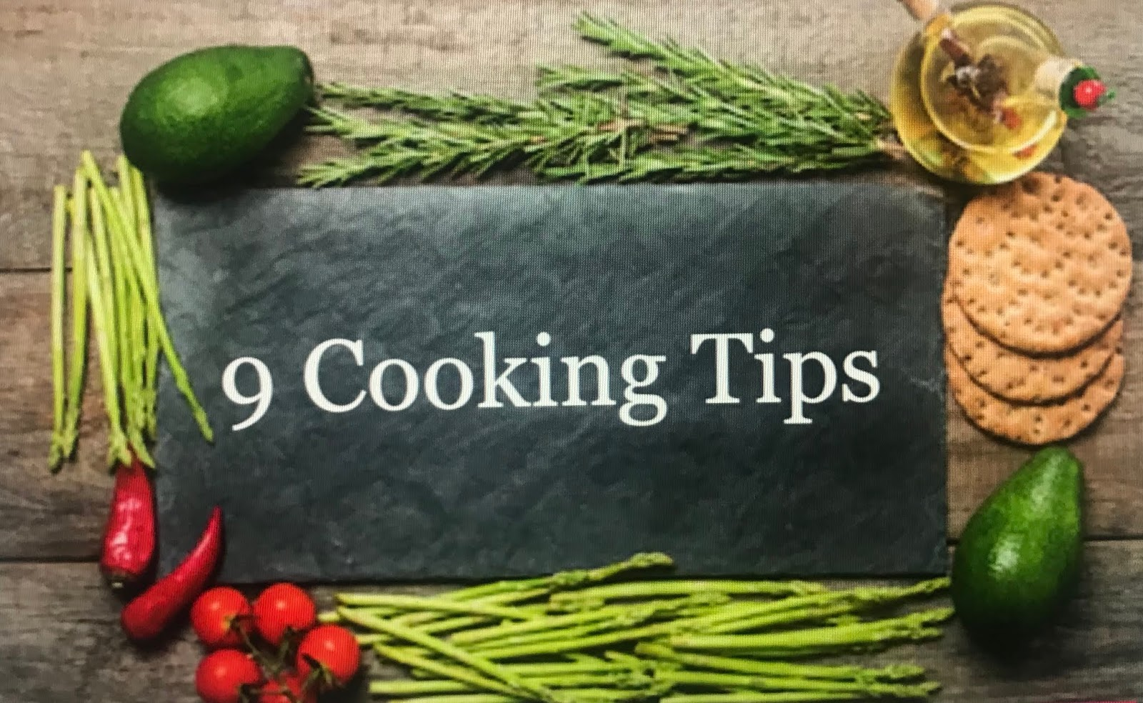 9 Cooking Tips