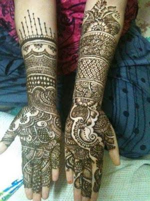 Dulhan Mehndi Rajasthani Designs