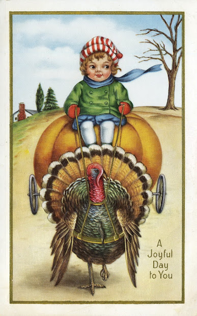 Little Birdie Blessings Free Vintage Thanksgiving Graphics