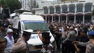 Kru METRO TV diusir di Medan