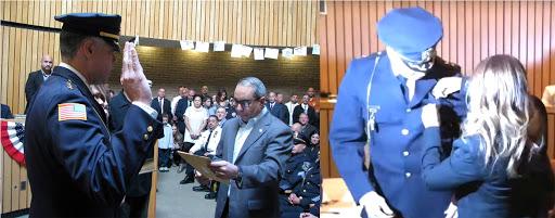 Dominicano jura como primer jefe de policía en EEUU; comandará uniformada en Passaic