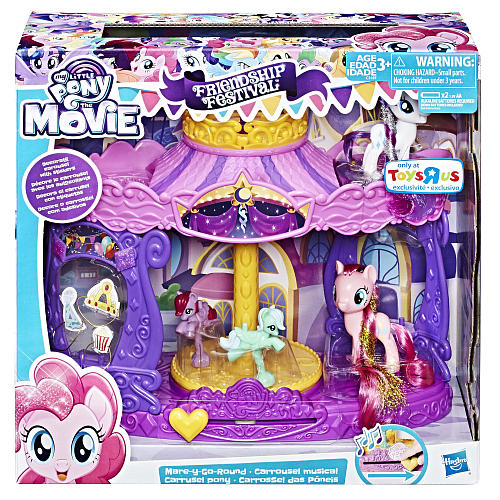 My Little Pony the Movie Friendship Festival Mare-Y-Go-Round Musical Carousel Set