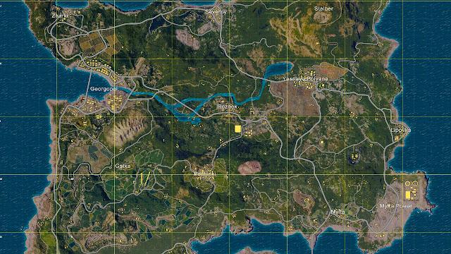 Lokasi Looting Terbaik Maps Erangel PUBG Mobile