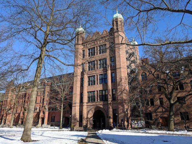 Єльський університет. Нью-Хейвен, Коннектикут. (Yale University. New Haven. CT)