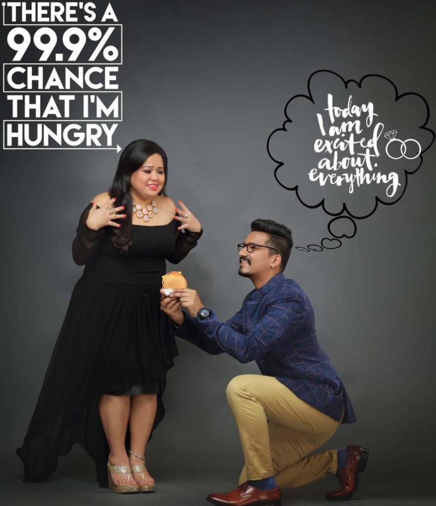 Story Comedian Iliza Shlesinger Wedding: Comedian Bharti Singh's Comic Twist At Her Pre-wedding