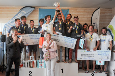 Maxime Mesnil remporte les Internationaux de France de Match-Racing