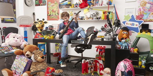 At twelve, he became CEO of Toys