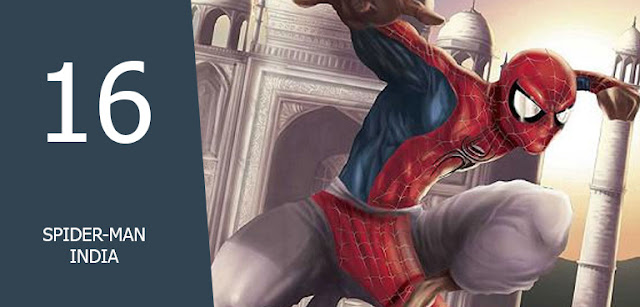 mengenal alternatif spiderman india