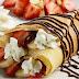 Canutillos con crema pastelera y fresas