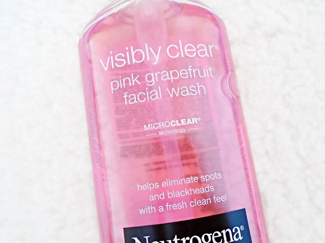 Neutrogena Visibly Clear Růžový Grapefruit Mycí Emulze
