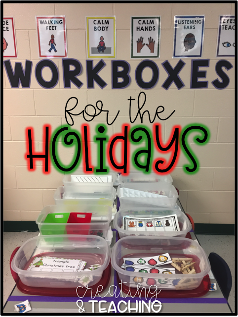 Holiday Workboxes! {Christmas 2017}