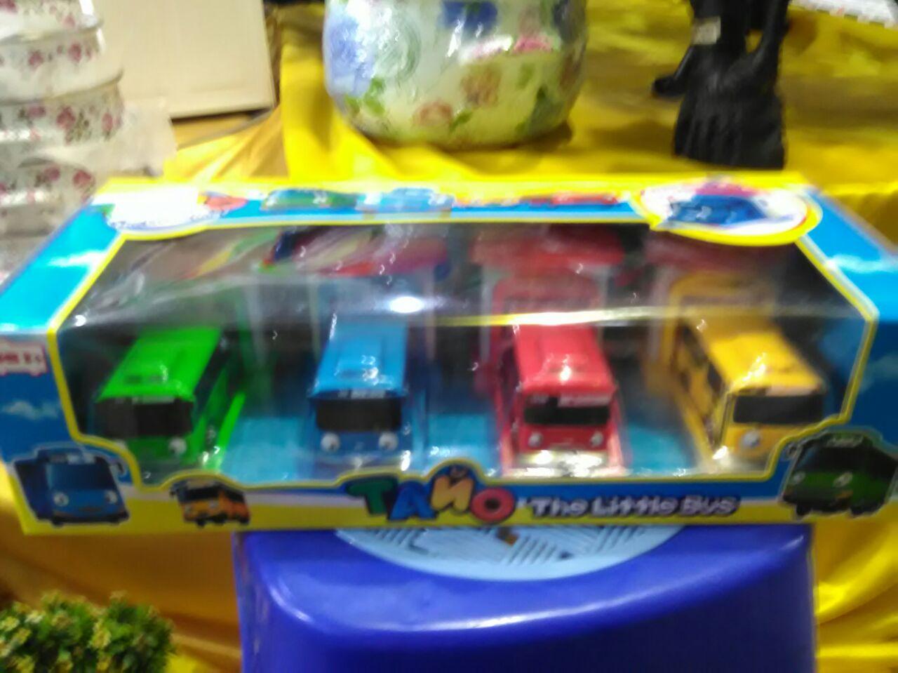Mainan tayo set the little bus High Quality. 53cfa63ebd