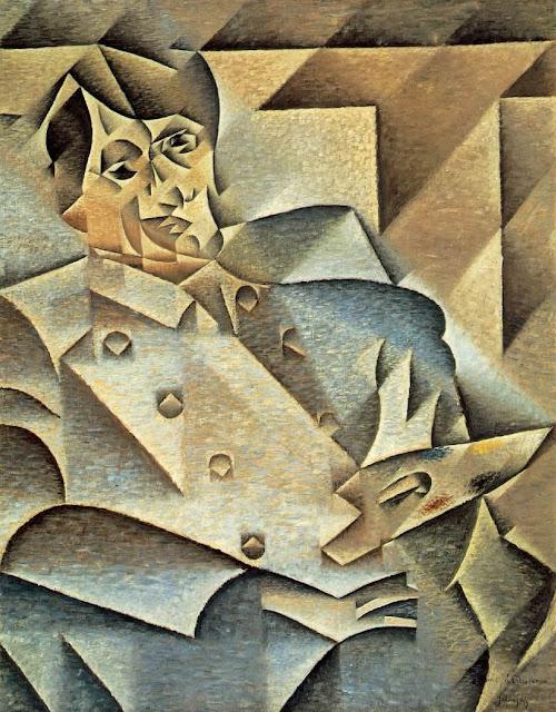 Ritratto di Picasso eseguito da Gris