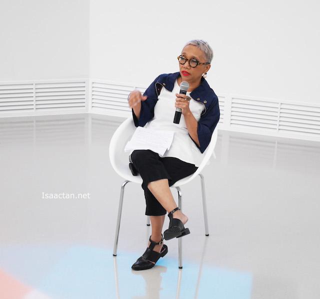 Celebrity stylist and fashion critic Zaihani Zain