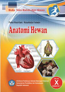 Download Buku Sekolah Elektronik Materi Pelajaran Buku Anatomi Hewan Semester 1 SMK Kelas 10 (X) Kurikulum 2013 Revisi Terbaru Tahun 2017 - Gudang Makalah