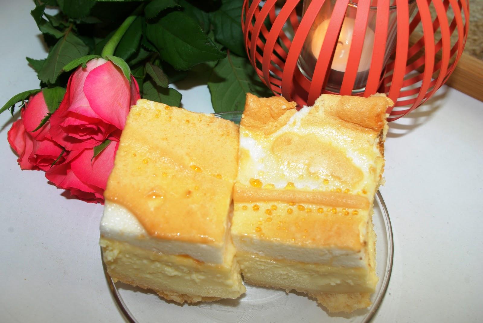 Najpyszniejsze ciasto - sernik rosa.