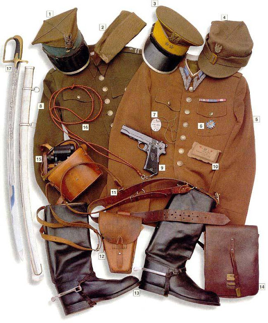 WW2 military uniform - Polish Cavalry Officer 1939