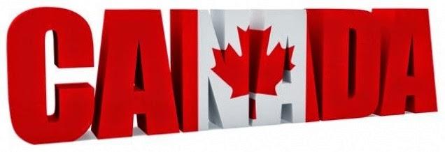 слово Canada с кленовым листом