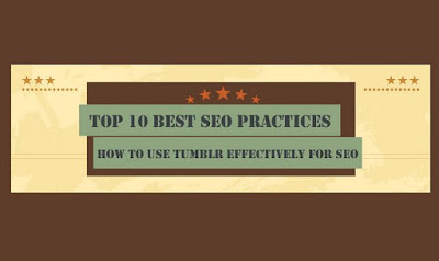 HOW TO USE TUMBLR EFFECTIVELY FOR SEO #INFOGRAPHIC