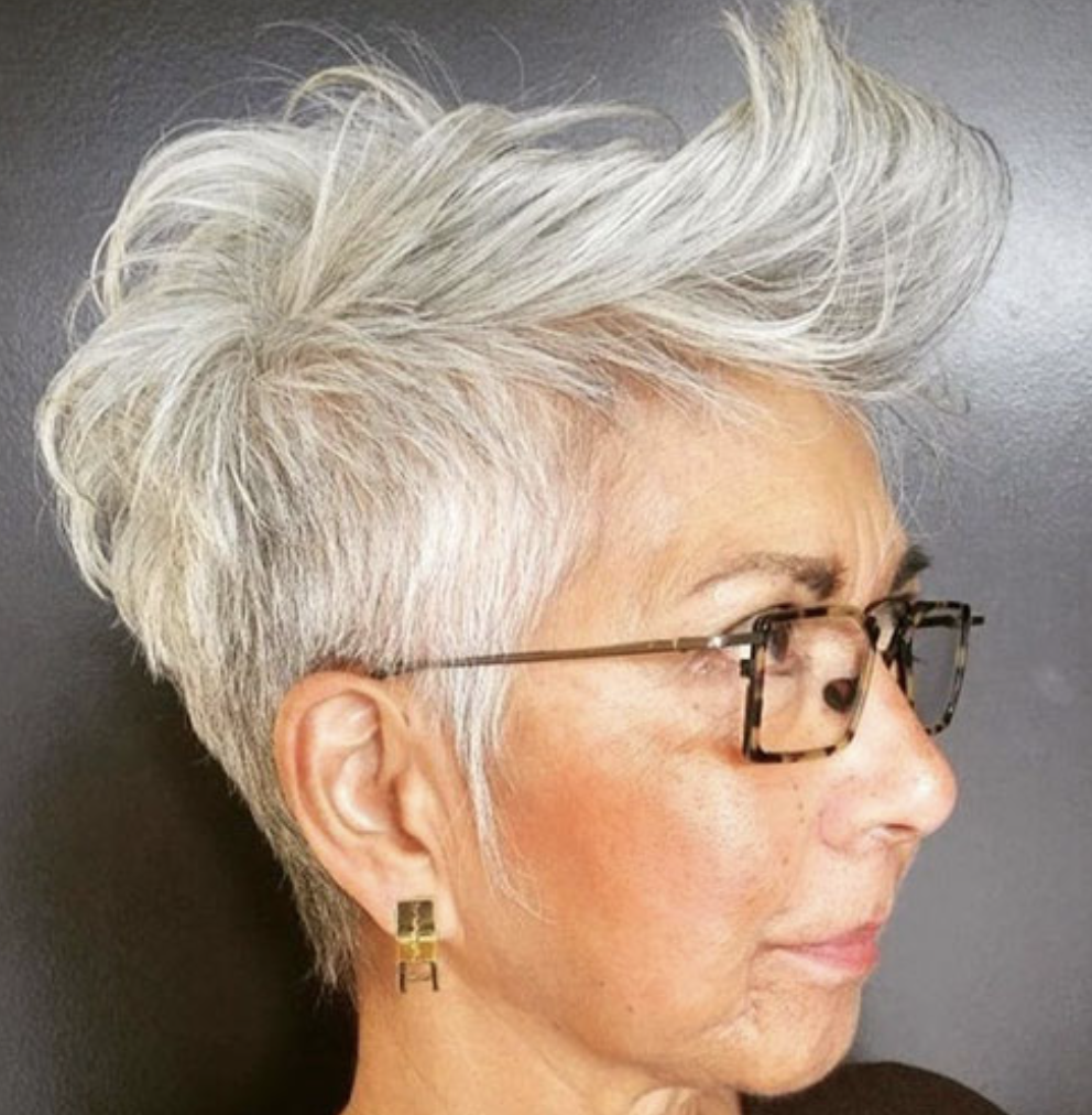 50+ Best Short Pixie Haircuts for Older Women 2019 ...