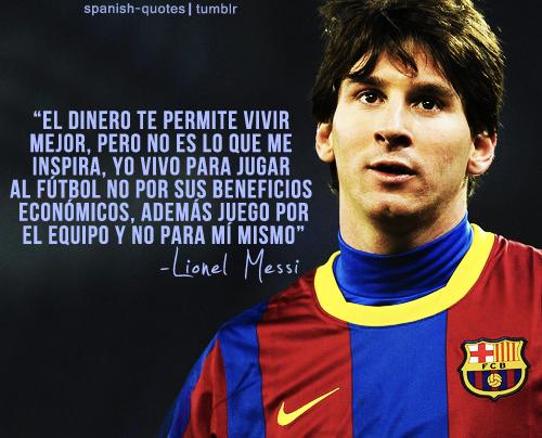 Frases De Futbol Y Amor Para Portada De Facebook Messi