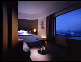 Room interior of the Hotel Metropolitan Tokyo in Ikebukuro, Japan