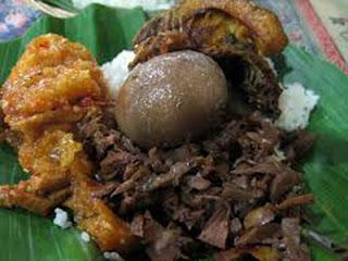 Gudeg, Kuliner khas Jogyakarta